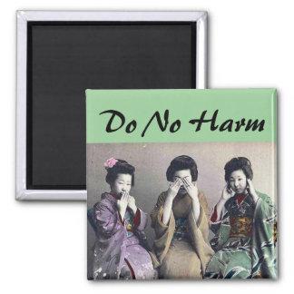 Do No Harm magnet