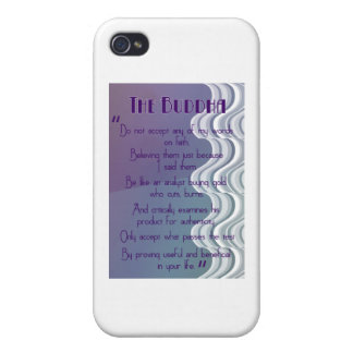 Do not accept... Buddhist Quote iPhone 4 Cases