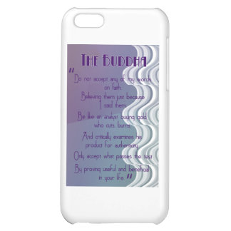 Do not accept... Buddhist Quote iPhone 5C Cover