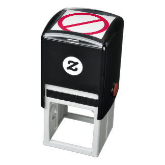 DO NOT ANTI red circle with slash symbol Self-inking Stamp