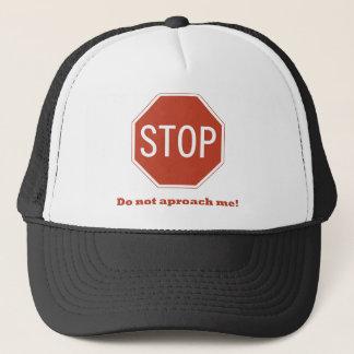 Do not approach trucker hat
