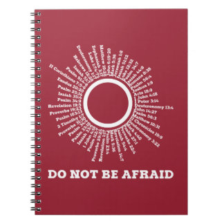 Do Not Be Afraid Scripture Promises Notebook