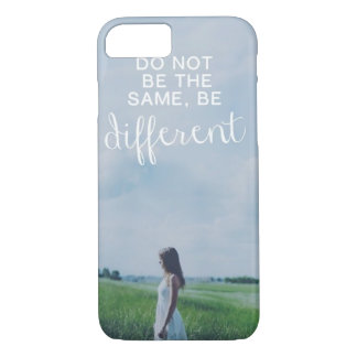 Do Not Be The Same iPhone 8/7 Case