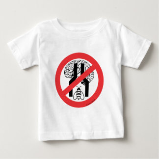 Do Not Bee Narrow Brained RD BLK WH. Shirts