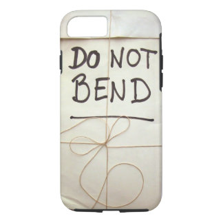 Do Not Bend Paper Parcel Package with String iPhone 8/7 Case