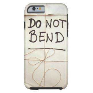 Do Not Bend Paper Parcel Package with String Tough iPhone 6 Case