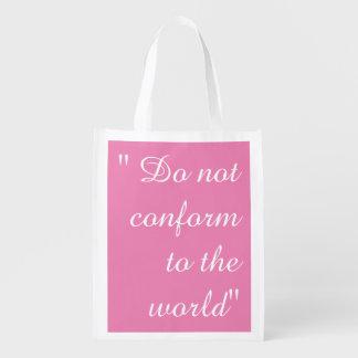 Do Not Conform Bag