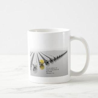 Do Not Conform Classic White Coffee Mug