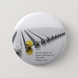 Do Not Conform Pinback Button