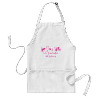 Do Not Confuse, Air Force Wife Adult Apron