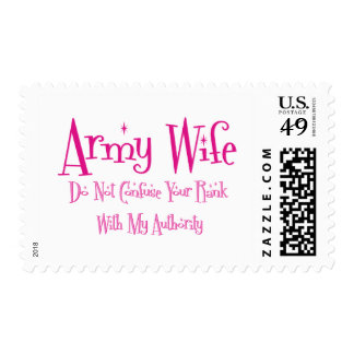 Do Not Confuse, Army Wife Stamps