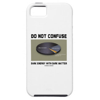 Do Not Confuse Dark Energy With Dark Matter iPhone SE/5/5s Case