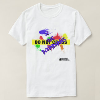 Do Not Cross/X the Boundaries Men's T-shirt