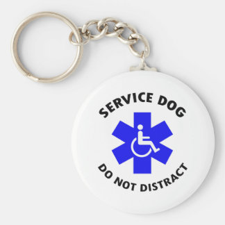DO NOT DISTRACT KEYCHAIN