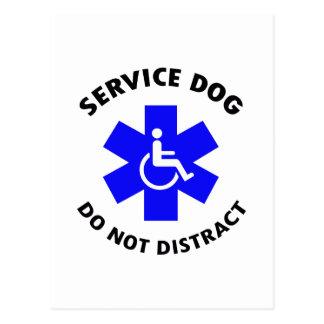DO NOT DISTRACT POSTCARD