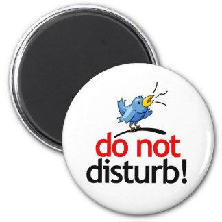 Do not disturb 2 inch round magnet