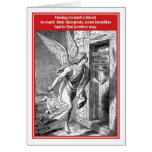 Do Not Disturb Angel of Death Funny Passover Card