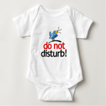 Do not disturb baby bodysuit