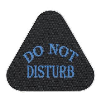 Do Not Disturb - Black Background Speaker