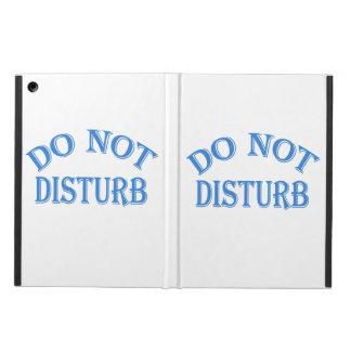 Do Not Disturb (Blue Text) iPad Air Case