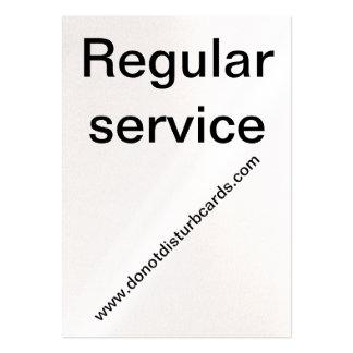 Do Not Disturb Cards .Com (Regular Service Card) Business Card Template