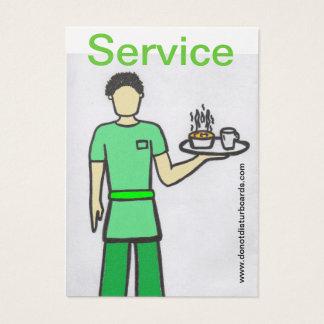 Do not Disturb Cards .Com (Waiter).