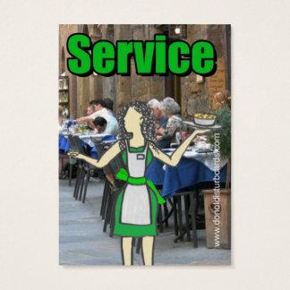 Do not Disturb Cards .Com (Waitress full color).