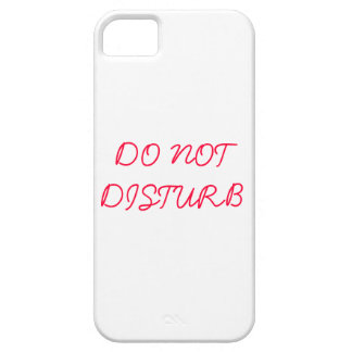 Do Not Disturb iPhone 5 Cover