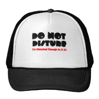 Do Not Disturb - Funny Mesh Hat