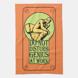 Do Not Disturb, Genius AT Work (B&W Lock hole) Towel