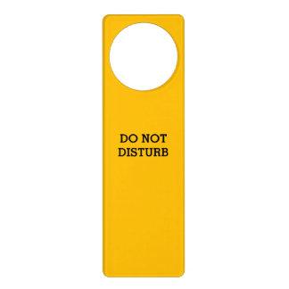 Do Not Disturb Gold Door Hanger by Janz
