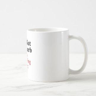 Do Not Disturb Im Working Out Coffee Mug