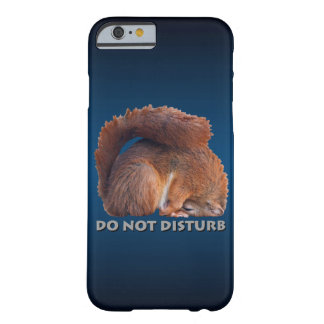 Do Not Disturb iPhone 6 Case (Blue/Black)