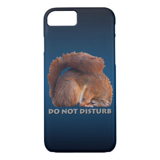 Do Not Disturb iPhone 7 Case (Blue/Black)