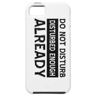 Do not disturb iPhone SE/5/5s case