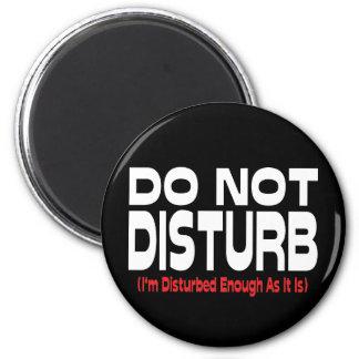 Do Not Disturb Refrigerator Magnet