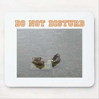 Do not disturb mouse pad