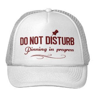 Do not disturb. Pinning in progress Trucker Hat