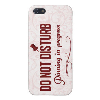 Do not disturb. Pinning in progress iPhone SE/5/5s Cover