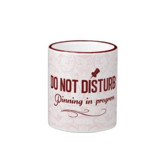 Do not disturb. Pinning in progress Mug