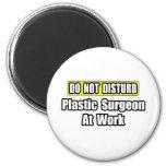 Do Not Disturb...Plastic Surgeon At Work Magnets