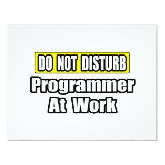 Do Not Disturb...Programmer At Work Invite