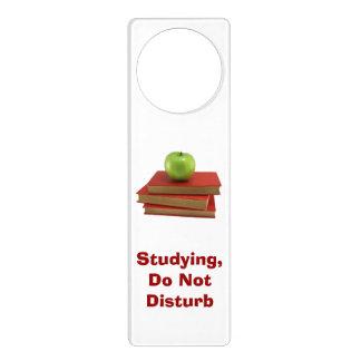 Do Not Disturb Red Books Door Hanger