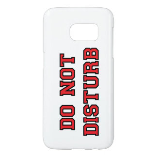 Do Not Disturb Samsung Galaxy S7 Case