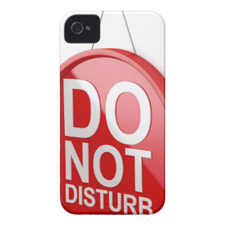 Do not disturb signboard iPhone 4 case