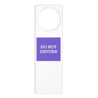Do Not Disturb Slate Blue Door Hanger by Janz