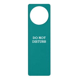 Do Not Disturb Teal Door Hanger by Janz