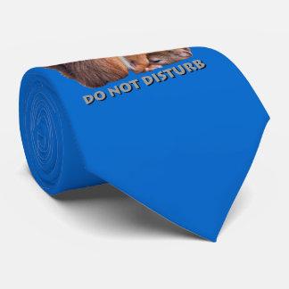 Do Not Disturb Tie (Blue)