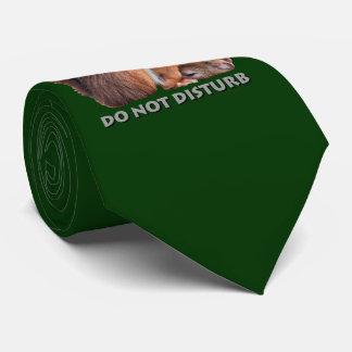 Do Not Disturb Tie (Dark Green)