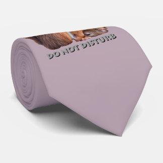Do Not Disturb Tie (Dusty Pink)